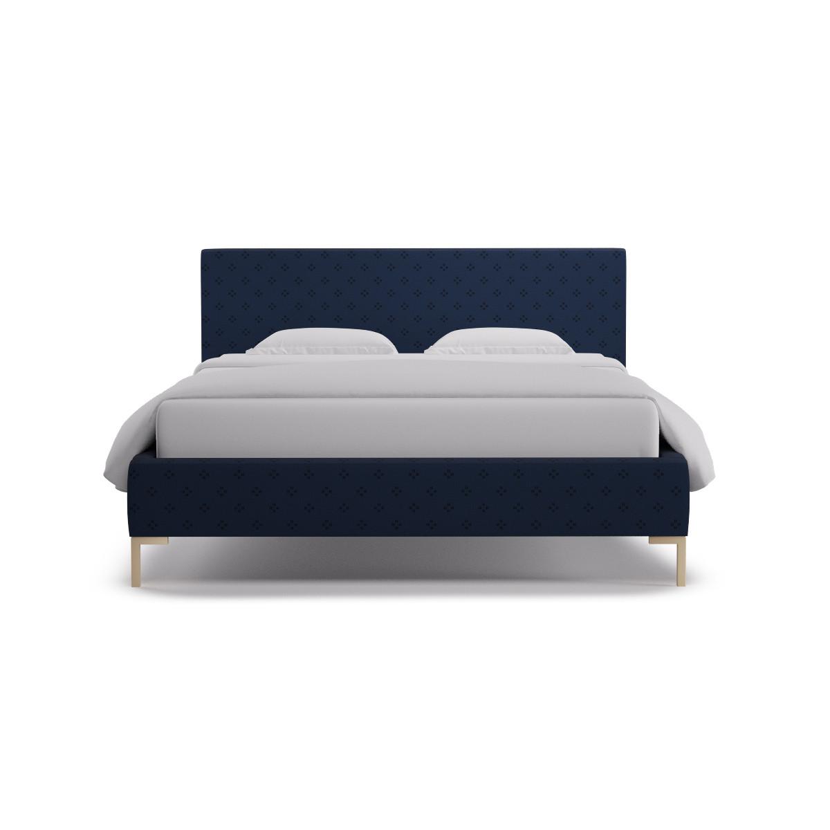 . Modern Platform Bed   Queen   Azul Faro
