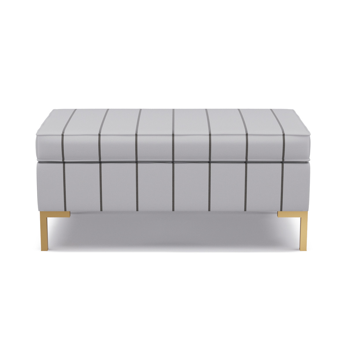 Miraculous Modern Bench Stripe In Ink Pabps2019 Chair Design Images Pabps2019Com